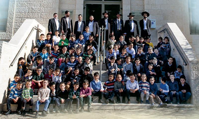 L'école Ateret Chelomo du Rav Attali
