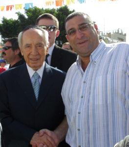 Shimon Pérès et Drori Bakal